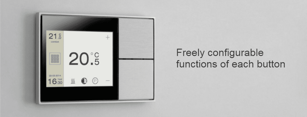 Freely configurable functions button